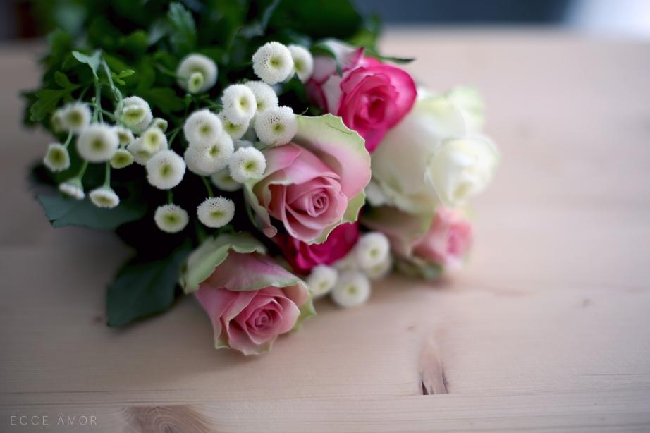 Bouquet de roses - Ecce Amor