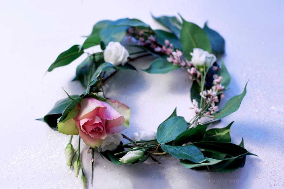 Couronne florale Hiver - Ecce Amor
